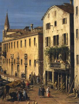 Canaletto - waterfront Venezia, San Marco c. 1735 - c. Trustees of Sir John Soane Museum