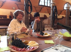 Villa Angarano, wine tasting and nibbles with Belinda Geddes and Barbara Hogan