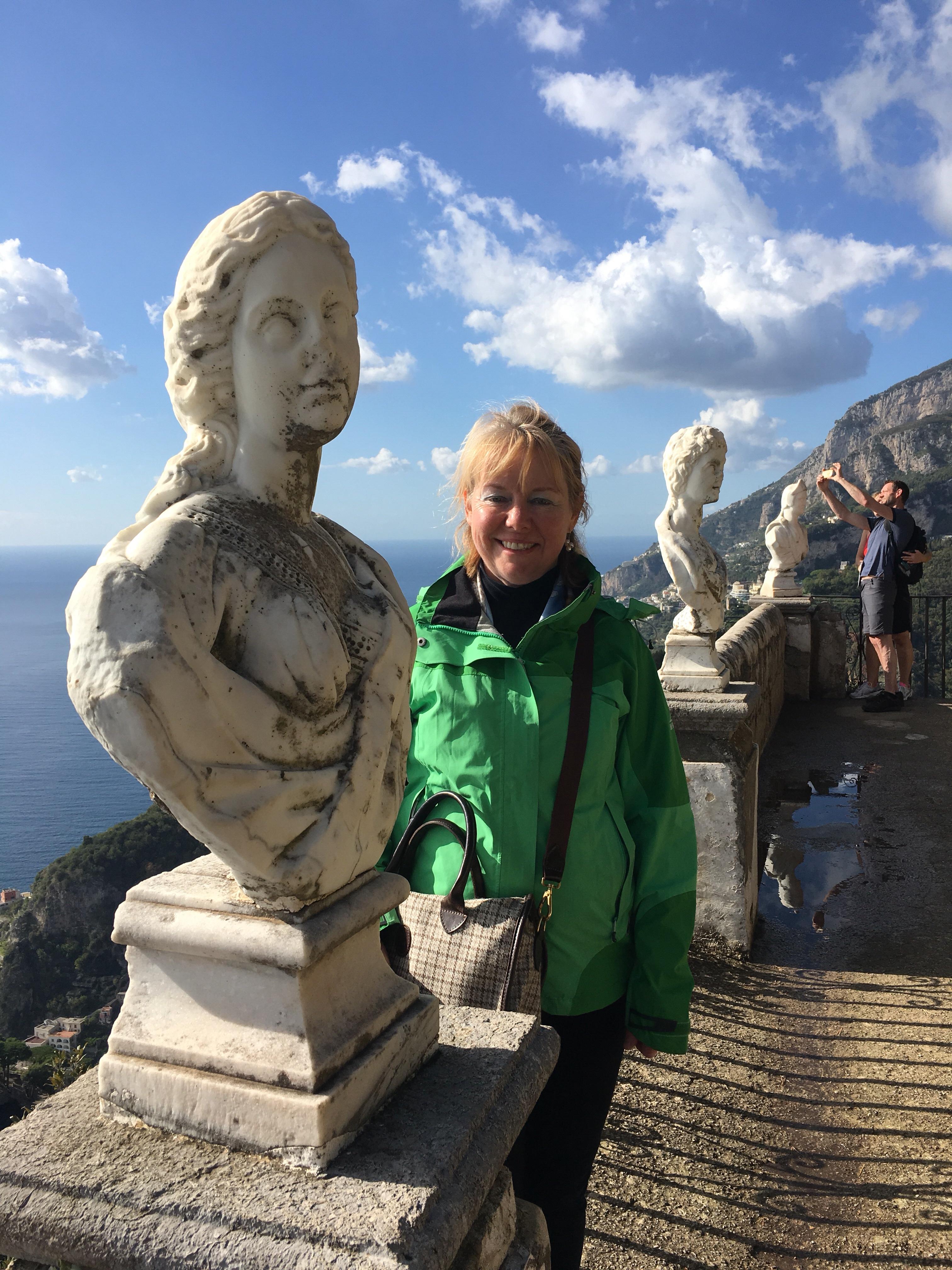 The Herdwick Bag arrives on the Amalfi Coast - Ravello - October 2017