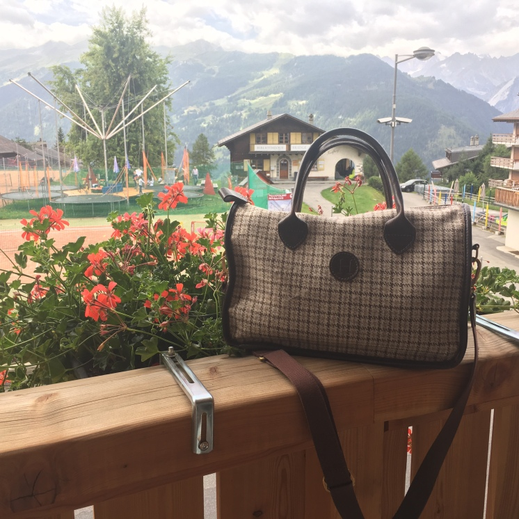 www.educated-traveller.com is the proud owner of a Herdwick Hand Bag, made from the wool of Herdwick sheep who live in the Lake District, England.