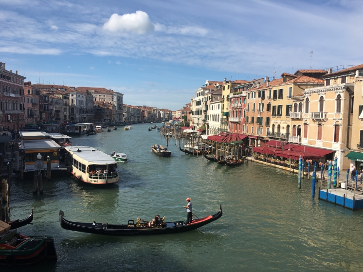 Venice - modern view from Rialto Bridge - www.educated-traveller.com