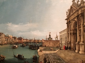 Canaletto - view towards Punta Dogana