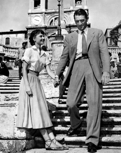 Roman Holiday - Audrey Hepburn & Gregory Peck starred in this wonderful romance (1953)