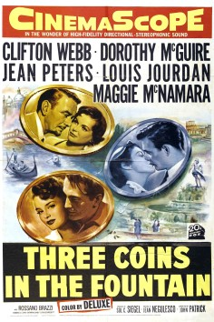 'Three Coins in a Fountain' was an iconic romantic film of 1954, about three young women in Rome looking for love.