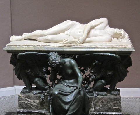 The Shelley Memorial, University College, University of Oxford