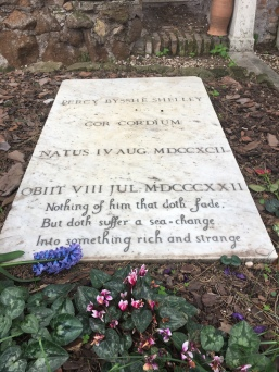 Protestant Cemetery , Shelley's Memorial Stone