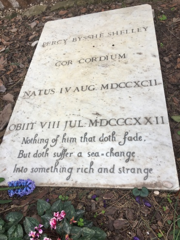 Shelly memorial, Rome
