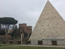 Pyramid of Caius Cestius, 12 BC, Roma