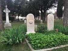 John Keat's Grave stone, Protestant Cemetery, Roma