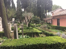 Protestant Cemetery, Rome - www.educated-traveller.com