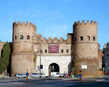Porta San Paolo - now a museum