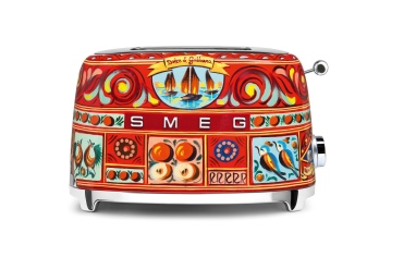 SMEG and D&G Toaster, Italian design and style