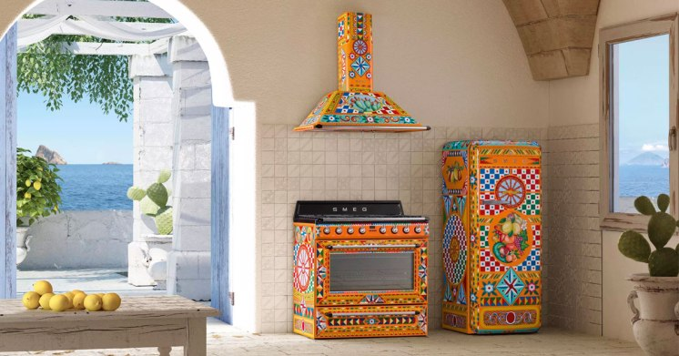 D & G domestic stove