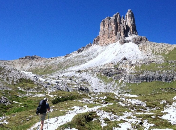 Dolomites - Hiking in the summer