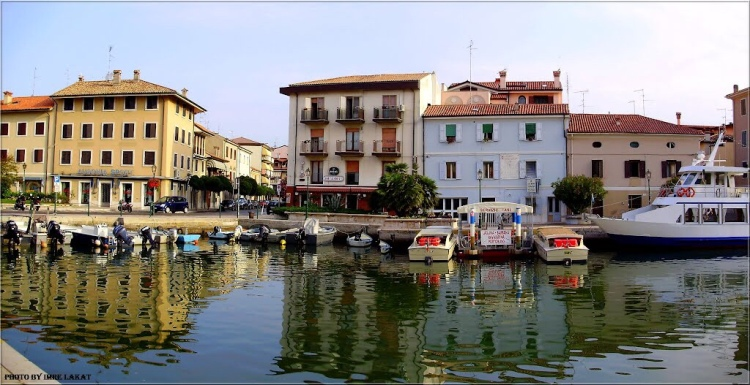 Grado - port town just minutes from Aquileia