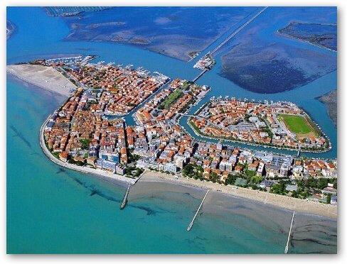 Grado - the coastal port city just five minutes by car from Aquileia