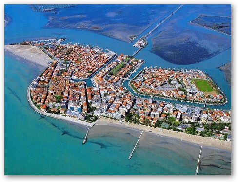 Grado - the coastal port city just five minutes by car from Aquileia