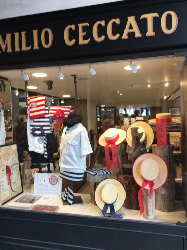 Emilio Cecchio - Out-fitter to the gondoliers!