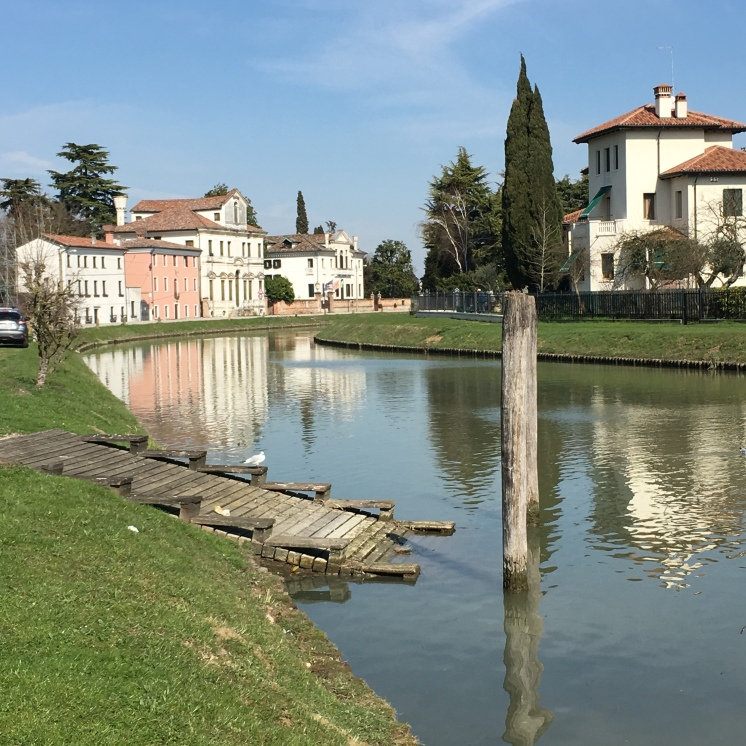 The Brenta waterway, our base for The Writer's Retreat in the glorious Veneto region, 08-15 September, 2019 - https://wp.me/p5eFNn-3DV