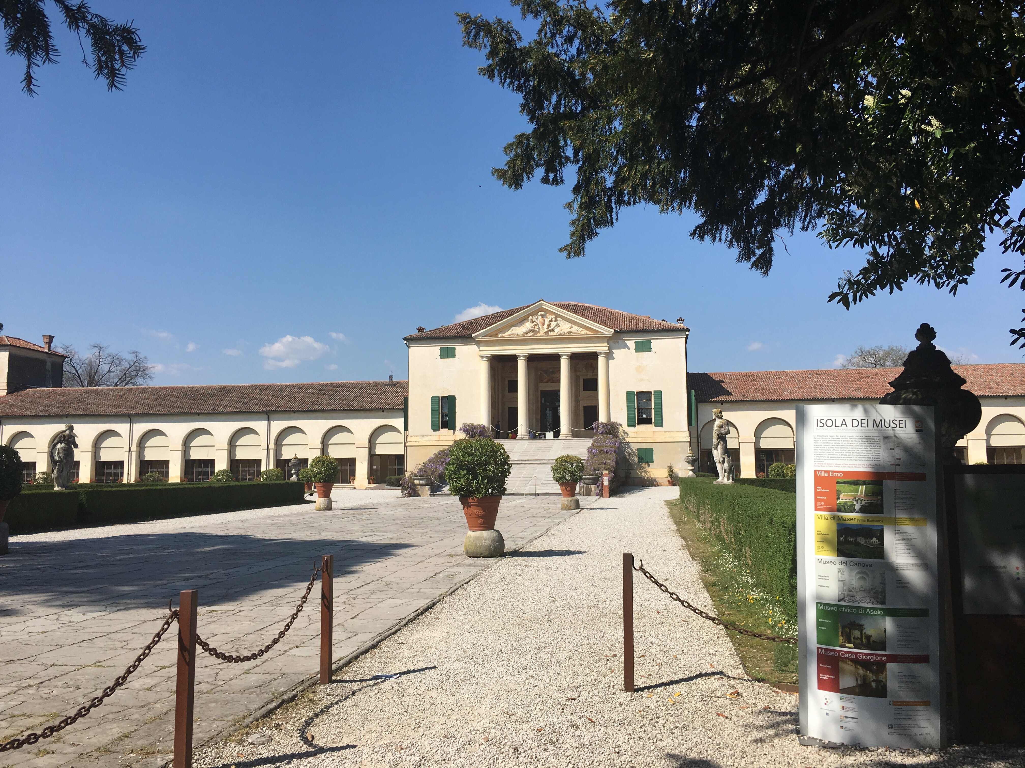 Villa Emo, Palladian villa with magnificent frescoes by GB Zelotti - www.educated-traveller.com