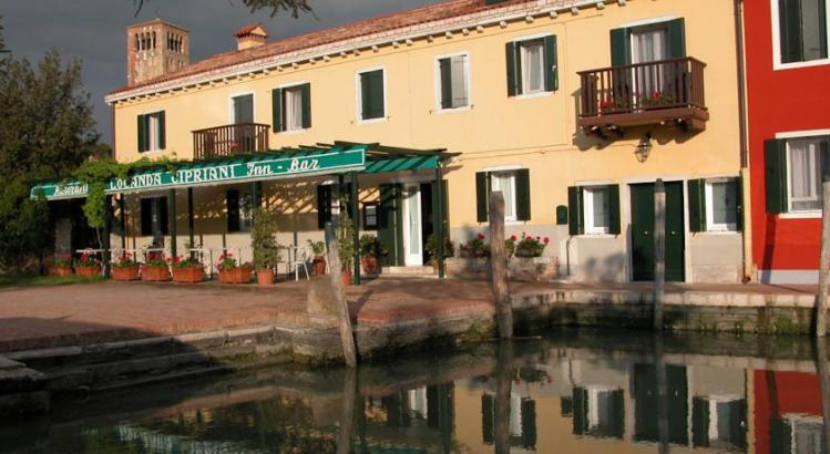The iconic Locanda Cipriani, on the island of Torcello