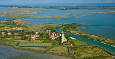 Torcello, originally the port for the Roman city of Altinum, home to a fine basilica, amazing Byzantine mosaics and the legendary Locanda Cipriani