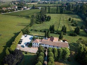 Villa Margherita - aerial view - country house hotel, Veneto - The base for our Writer's Retreat in the glorious Veneto region, 08-15 September, 2019 - https://wp.me/p5eFNn-3DV