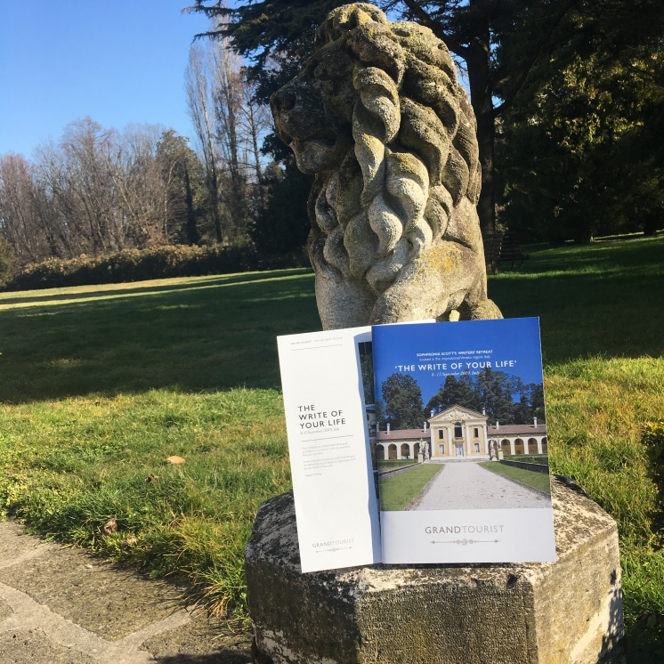 Writer's Retreat Brochure - on location at The Villa Margherita - https://wp.me/p5eFNn-3DV