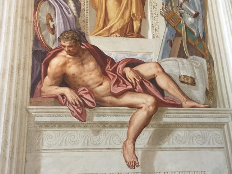 Villa Emo, Veneto - stunning 16th century frescoes by Zellotto a contemporary of Veronese