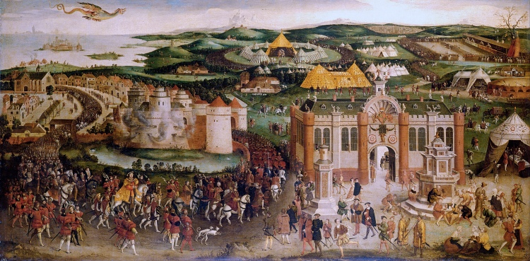 The Cloth of Gold - 16th century summit in Northern France