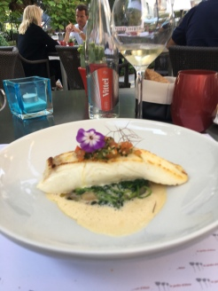 Halibut - main course