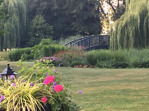 Chateau de Beaulieu - garden