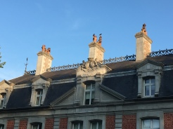 Chateau de Beaulieu, roof detail