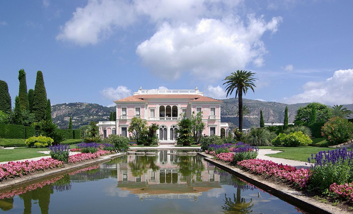 Villa Ephrussi de Rothschild, St Jean Cap Ferrat, South of France