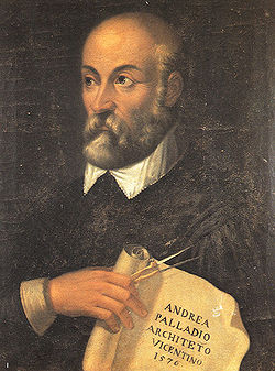 Andrea Palladio - portrait 1756 - a possible likeness of the celebrated architect, painted in the 18th century.