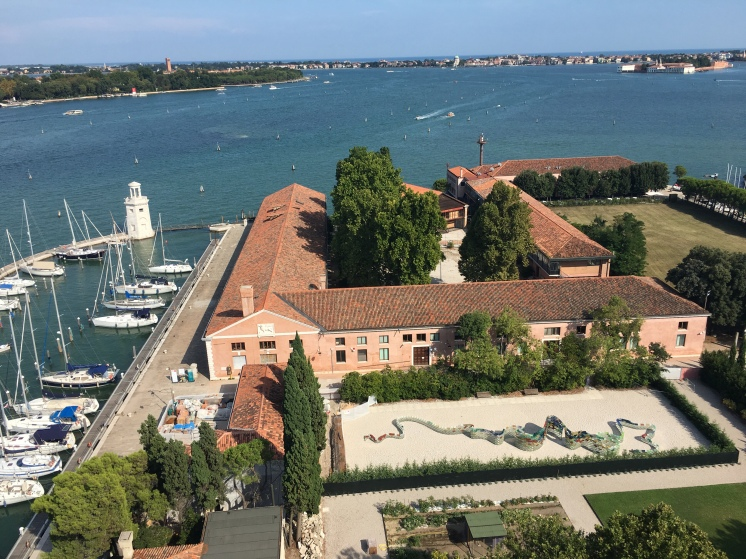 Venezia - view from the bell tower of San Giorgio Maggiore - www.educated-traveller.com