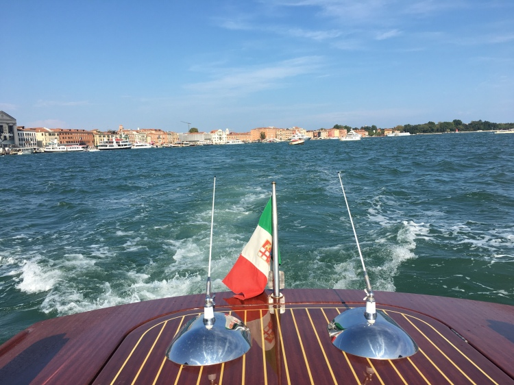 The Lagoon of Venice from our private boat - www.educated-traveller.com
