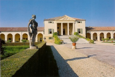 Villa Emo - view from western side of the drive, Fanzolo