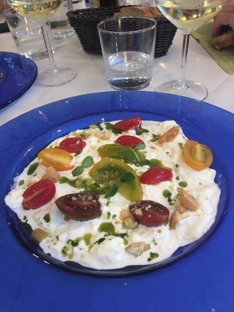 Corinaldo - delicious dinner at Nova Taberna