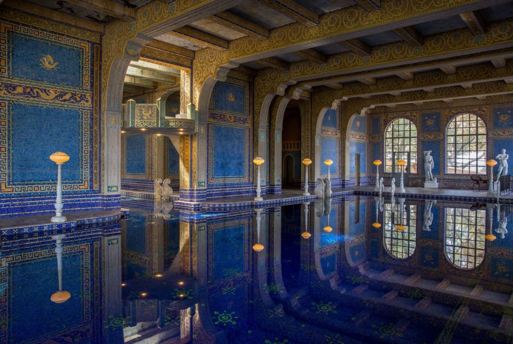 Hearst Castle - magnificent indoor pool