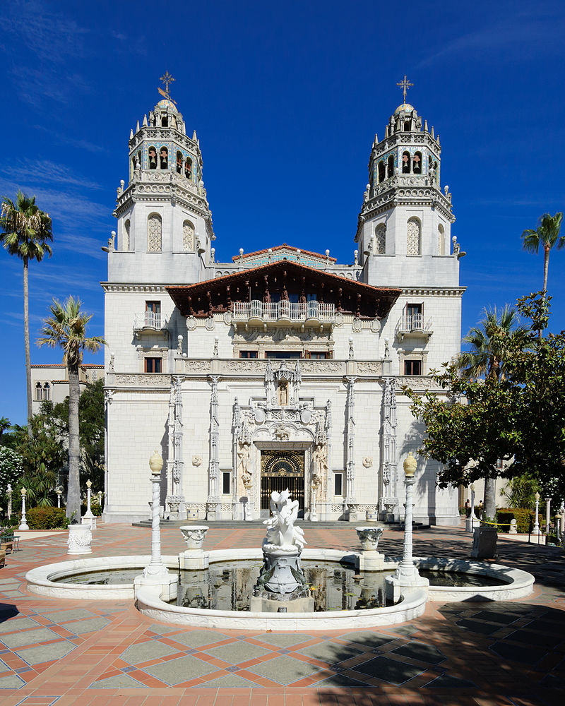 Hearst Castle - Casa Grande - panorama - September 2012