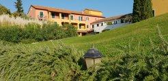 La Meridiana, Liguria, Italy - leading up to the hotel - October, 2018