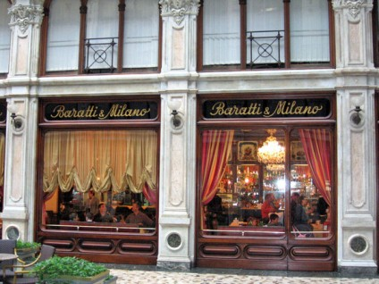 Baratti Milano, Torino - Caffe, external view