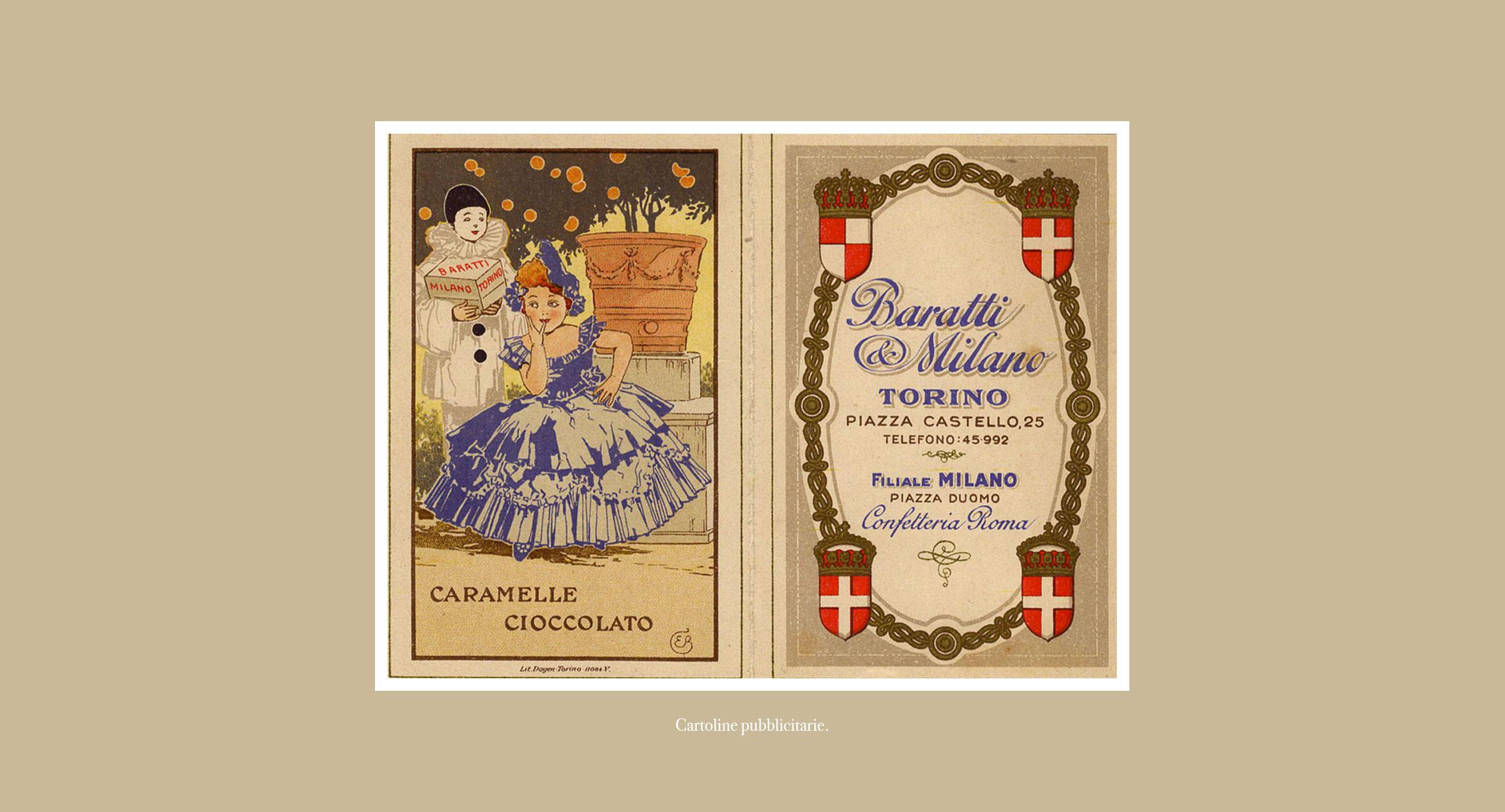 Galleria Archivio - Baratti & Milano, packaging