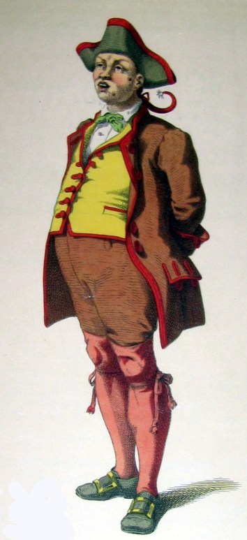 Gianduja - the carnival character who distributed the first gianduia chocolates