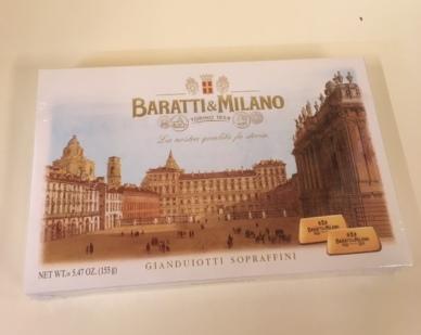 Scatola Gianduiotti - hazelnut chocolates