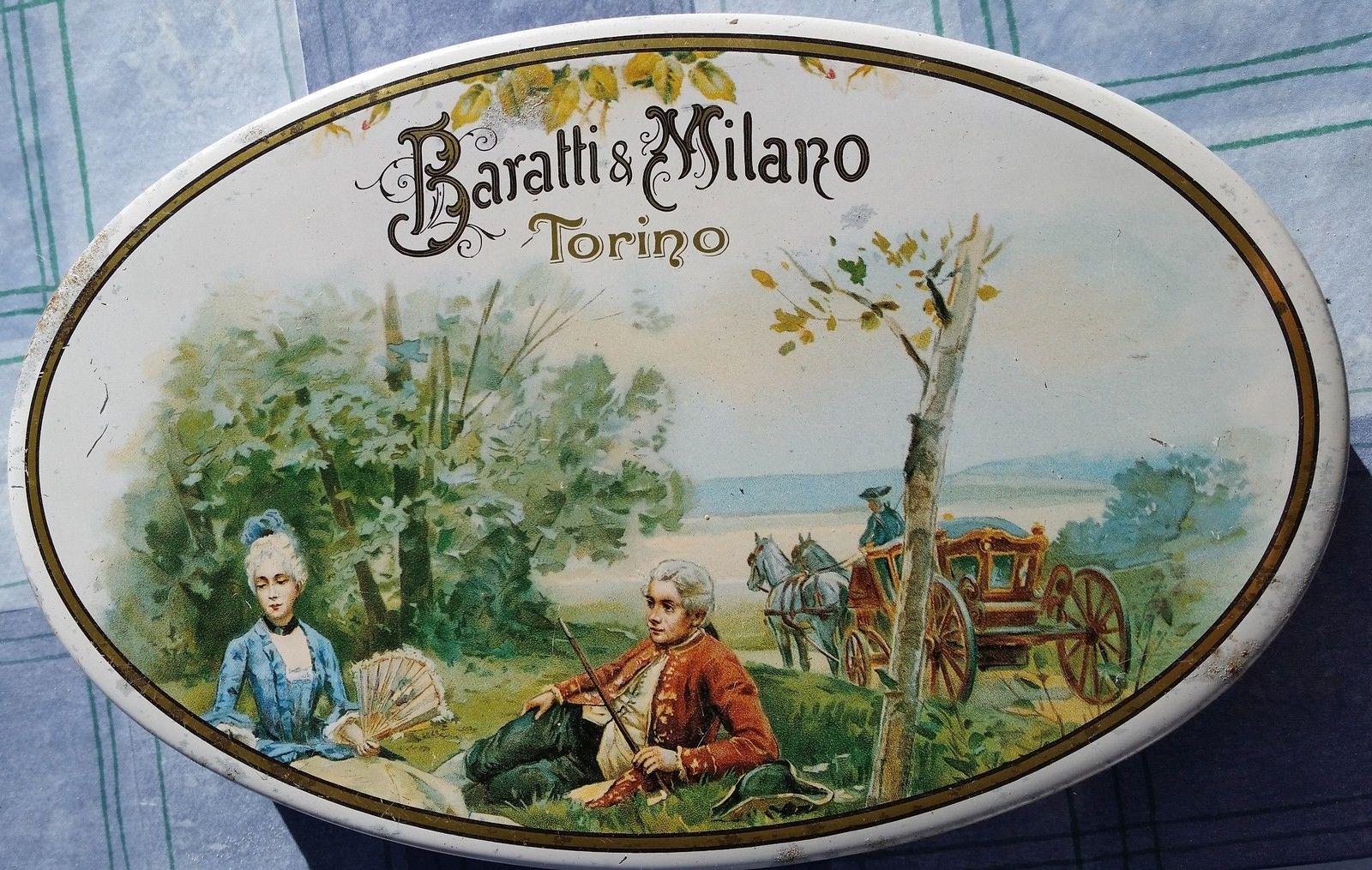 Scatola - Latta Baratti e MIlano