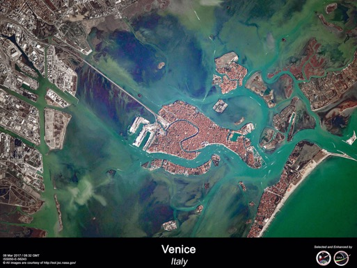 Venezia - from space station @NASA