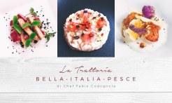 Trattoria Bella Italia, Pesce - a focus on fresh, local ingredients, beautifully presented and prepared.