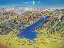 Peschiera del Garda is a picturesque town on the southern shores of Lake Garda